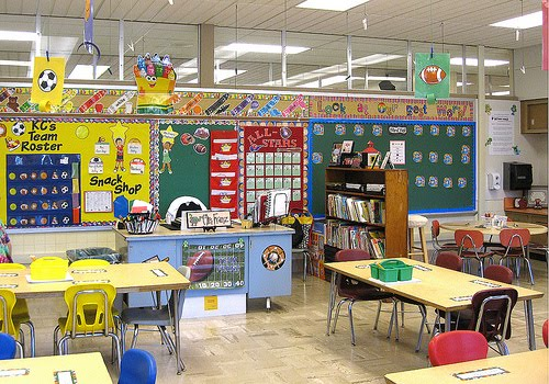 sports themed classrooms clutter free classroom. Black Bedroom Furniture Sets. Home Design Ideas