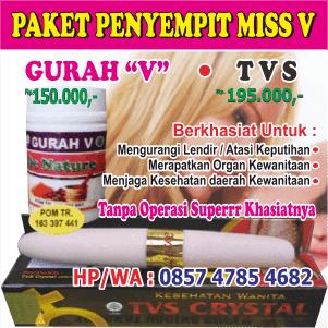 Paket Luar-Dalam : Penyempit Miss V
