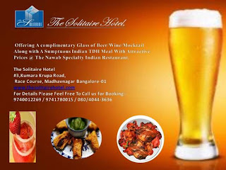 Food and Drink restaurant Bangalore