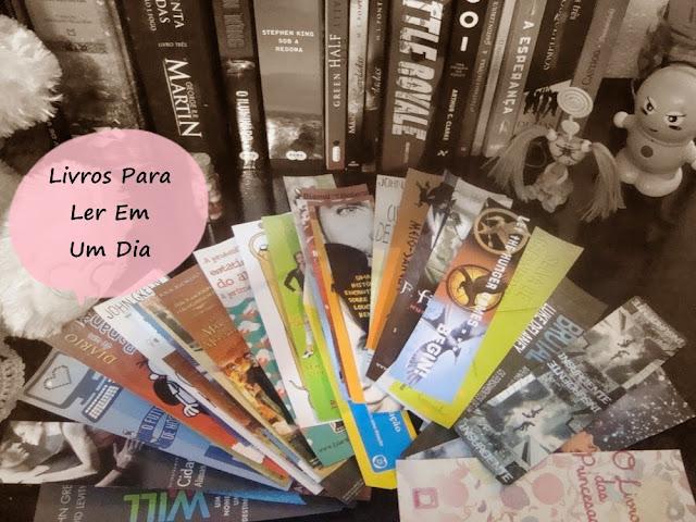 livros para ler em um dia