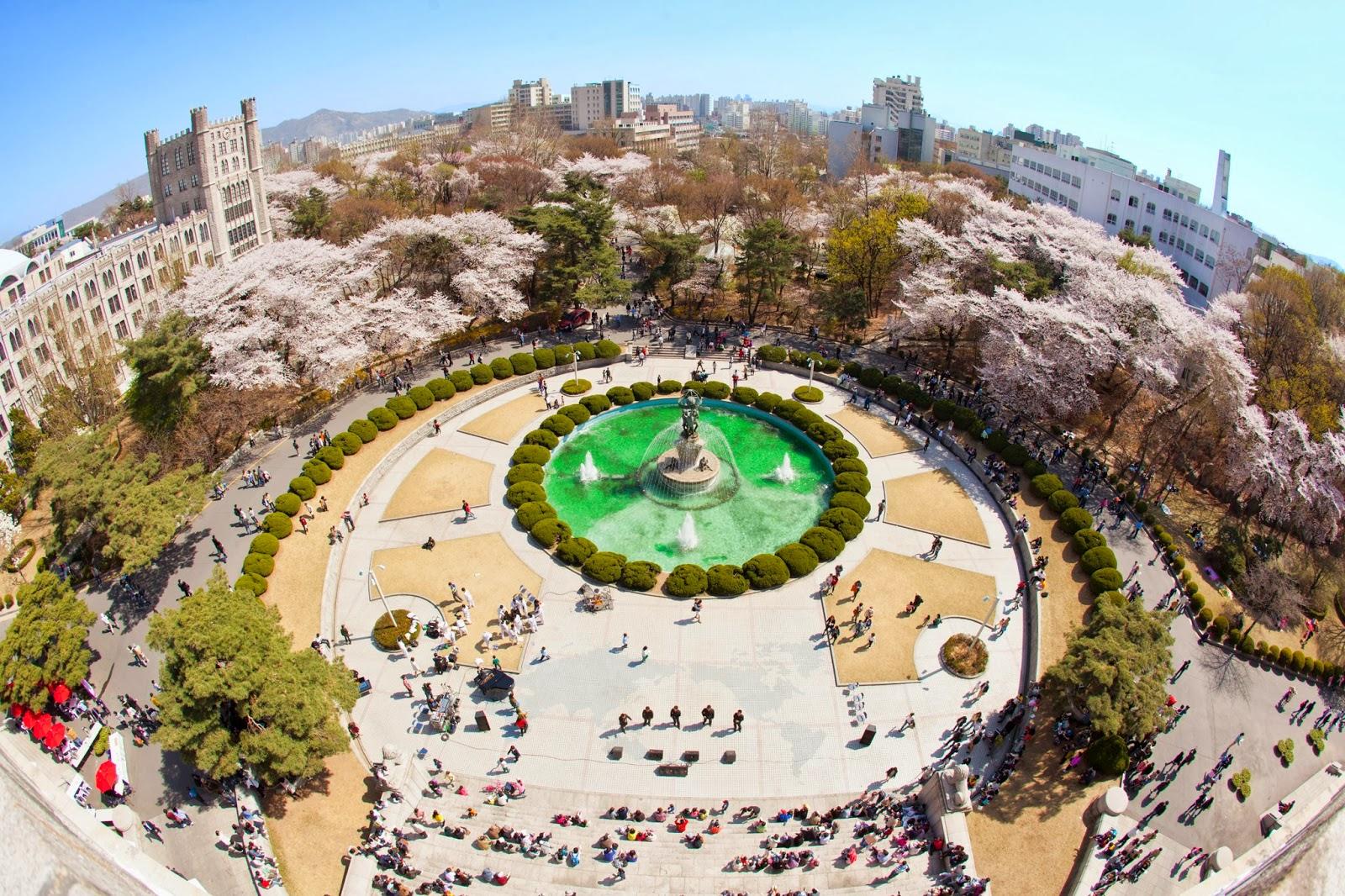 Kết quả hình ảnh cho Đại học Kyung Hee