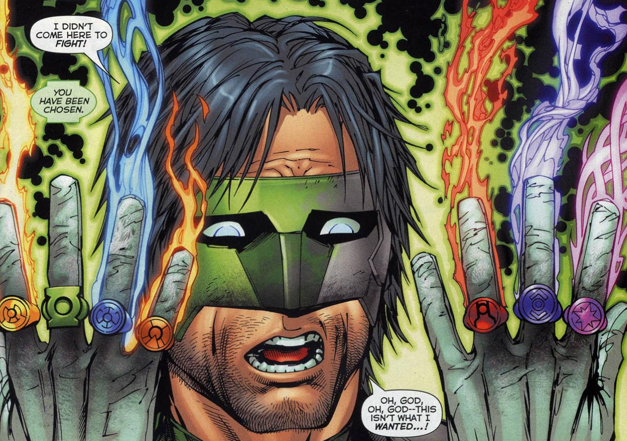 Green lantern ring comic - photo#14