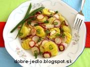 Zemiakový šalát s reďkovkou - recept