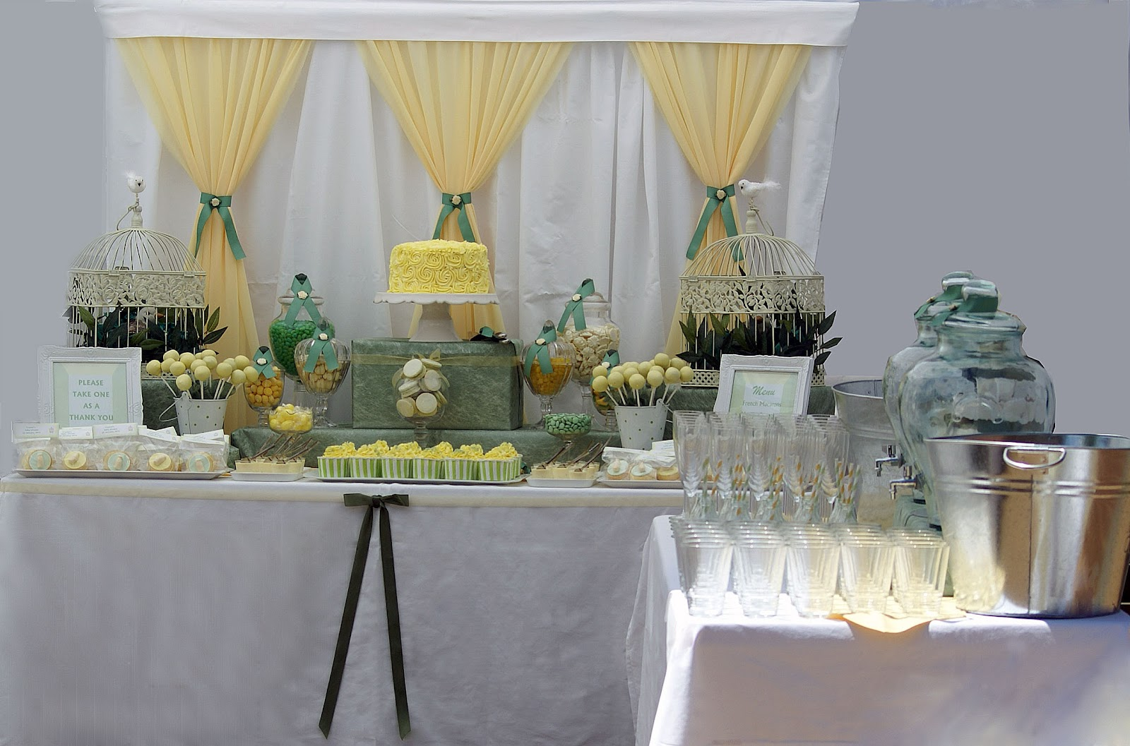 Baby Shower Decor Green ~ Little big company the sage green lemon and white