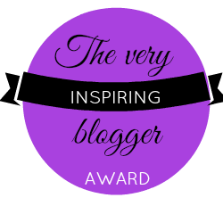 THE VERY INSPIRING BLOGGER AWARD
