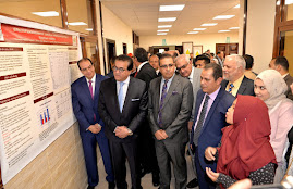 Visit of minister of higher education