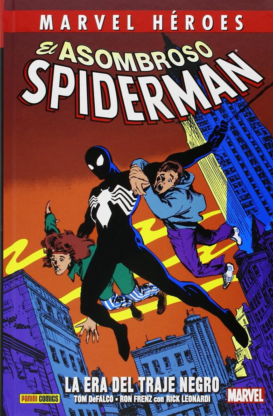 El Asombroso Spiderman. La Era Del Traje Negro