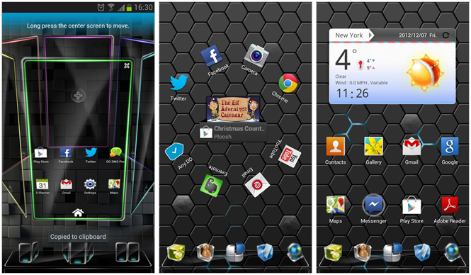 10 buenos launchers para Android