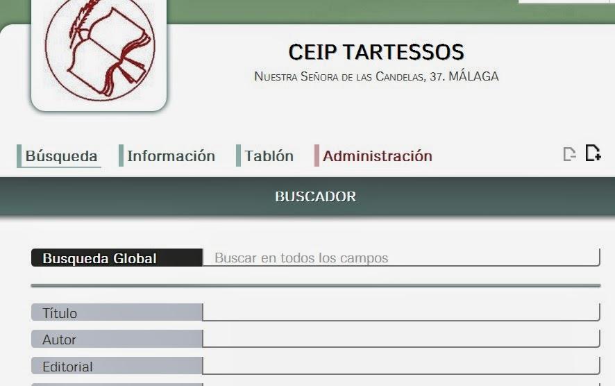 Biblioweb del CEIP Tartessos