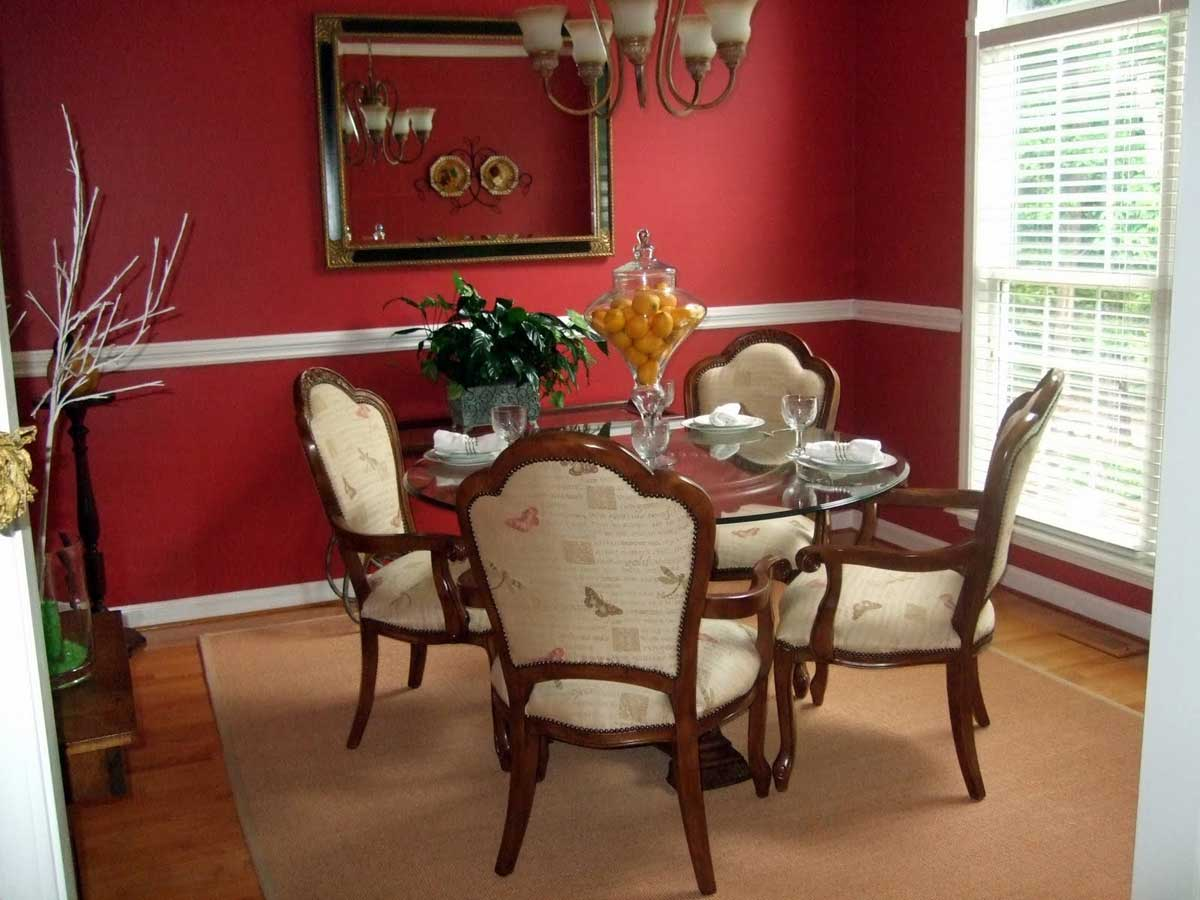 The Red Dining Room Craze.