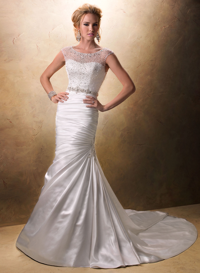 Maggie sottero ruby collection my dress of the week for Wedding dress maggie sottero