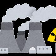 原子力発電所のイラスト