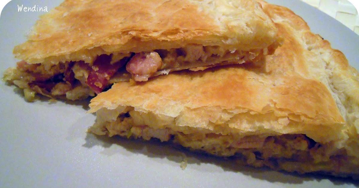 La cocina de wendina hojaldre de pollo y puerros - Hojaldre de puerros y gambas ...