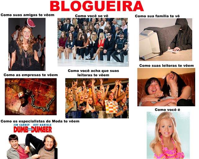 Como as pessoas vêem as blogueiras