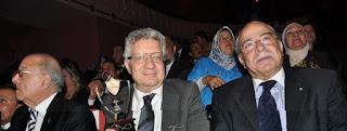 كمال درويش رئيس نادي الزمالك الأسبق