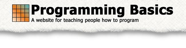 Basic Programming Learning