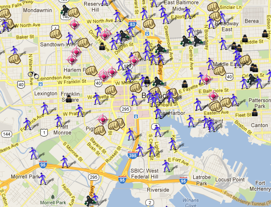 SpotCrime  The Public39s Crime Map Crime Reports Atlanta