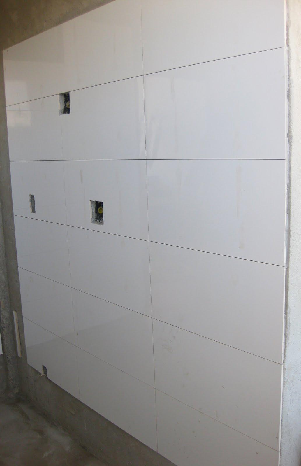 Reforma lá de casa: Setembro 2011 #5B4E38 1033x1600 Banheiro Com Azulejo Deitado