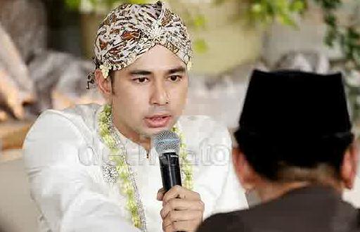 Raffi Ahmad mengucapkan Ijab Qabul