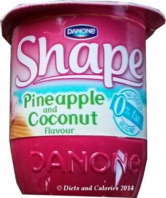 Danone Shape Pineapple & Coconut Yogurt