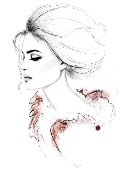 Fashion Illustrations By Kornelia Dbosz
