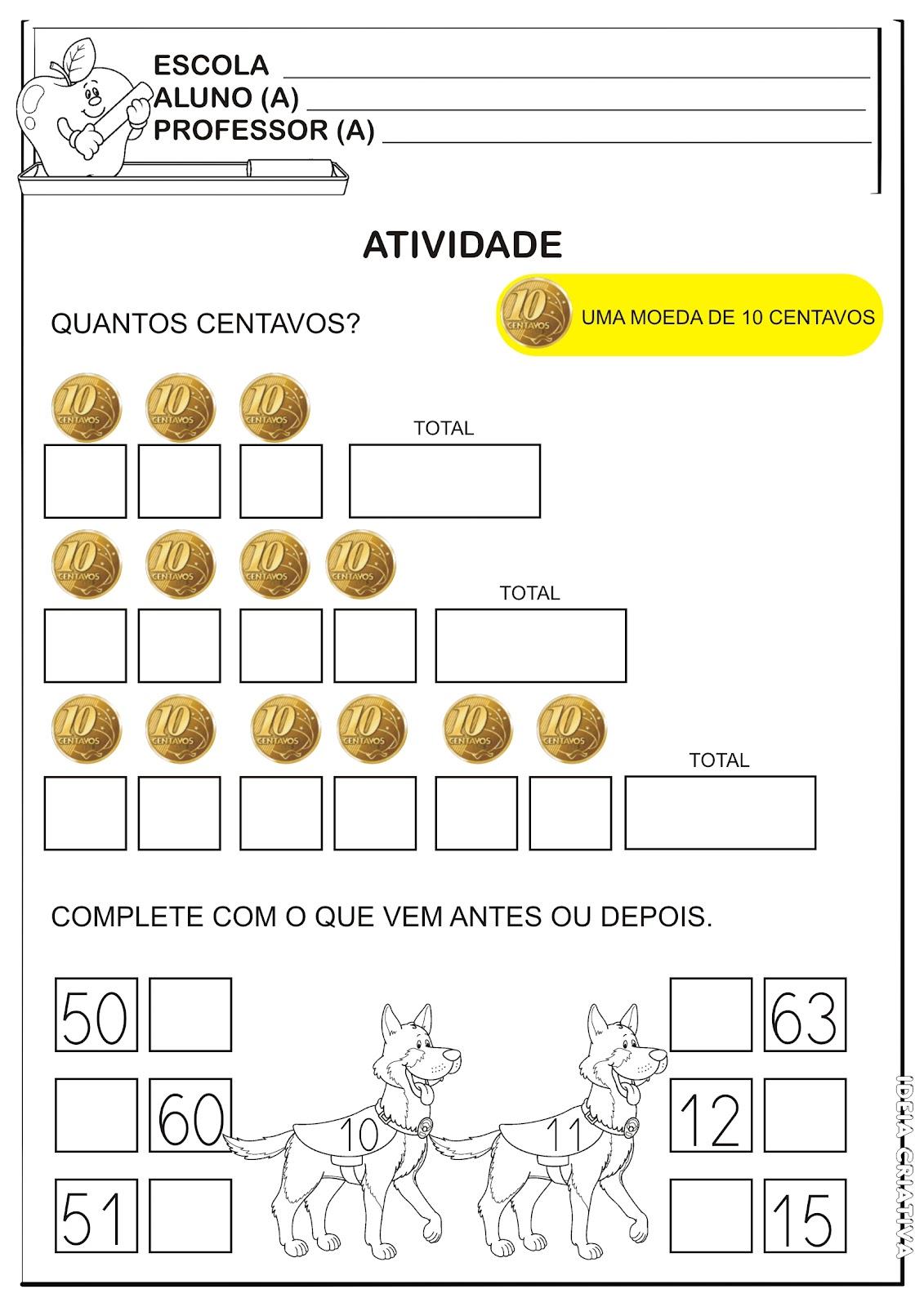 Atividade Sistema Monetário Brasileiro