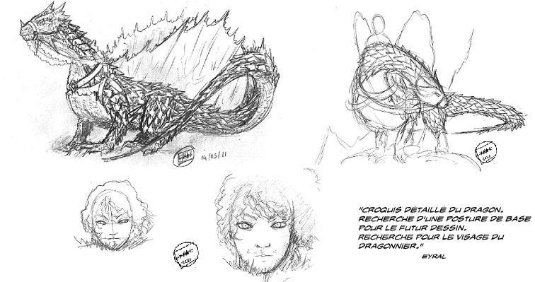 Corps de dragon ail dessin au trait 783 nombreux - Modele dessin dragon ...