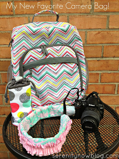 Favorite Camera Bag Backpack (from Thirty One), at Serenity Now