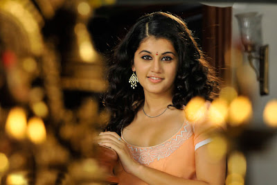 tapsee looking in mogudu actress pics