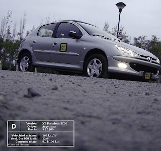 frente Peugeot 206 HDI Premium XT HDI