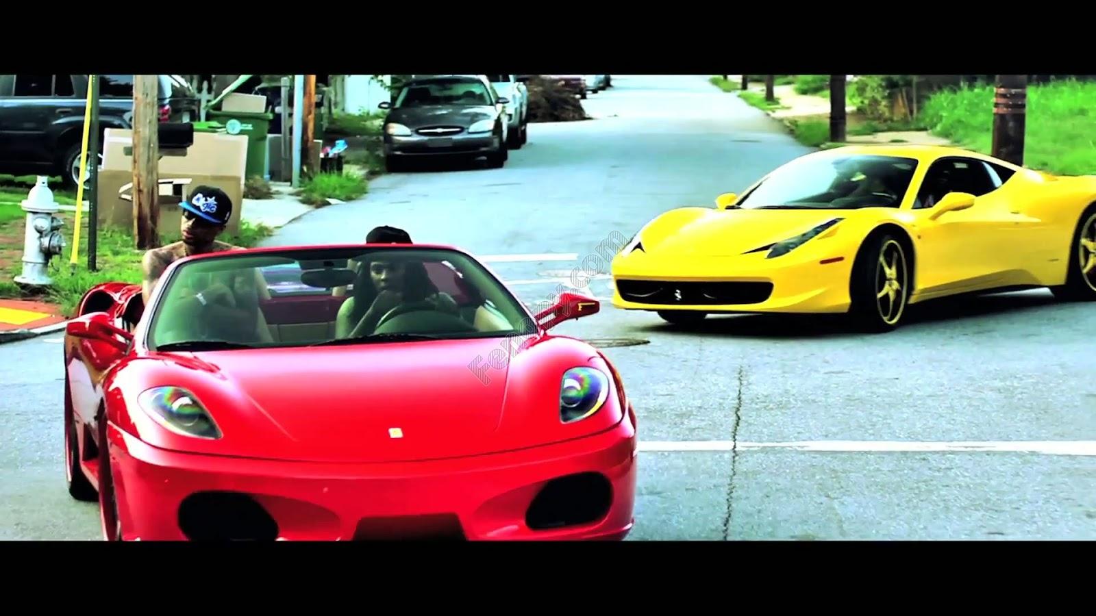 bmw car collection ferrari f430 ghost m6 rolls royce waka flocka flame