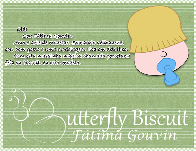 Butterfly - Biscuit  by Fátima Gouvin