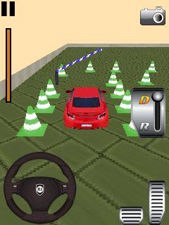Screenshots of the 3D Car parking 2 for java mobile, phone.