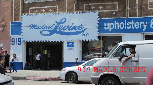 Micheal Levine downtown LA fabric district