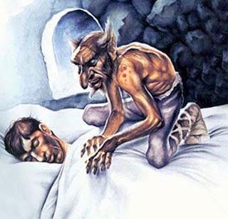 спящего душит Ингума