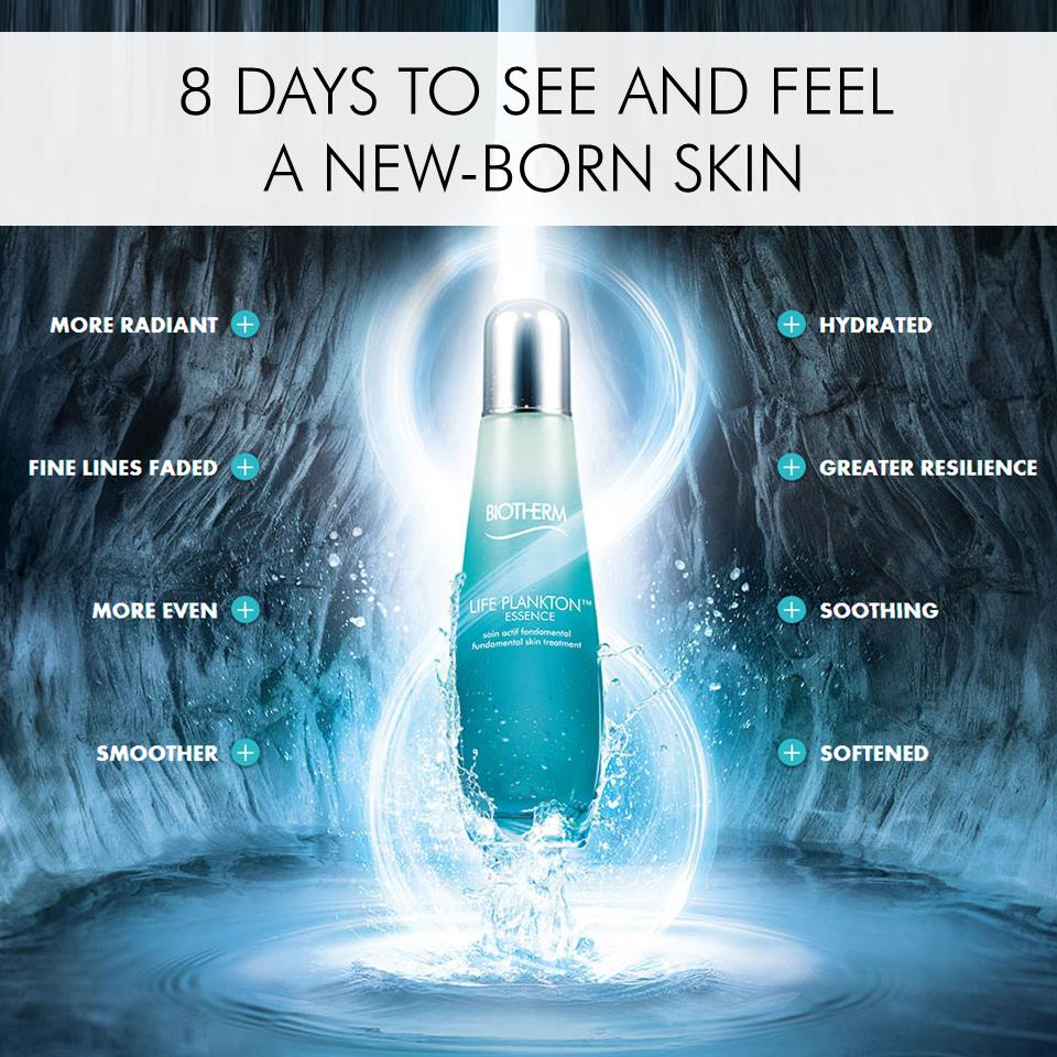 Biotherm Life Plankton Essence: How to get New-born Skin ...
