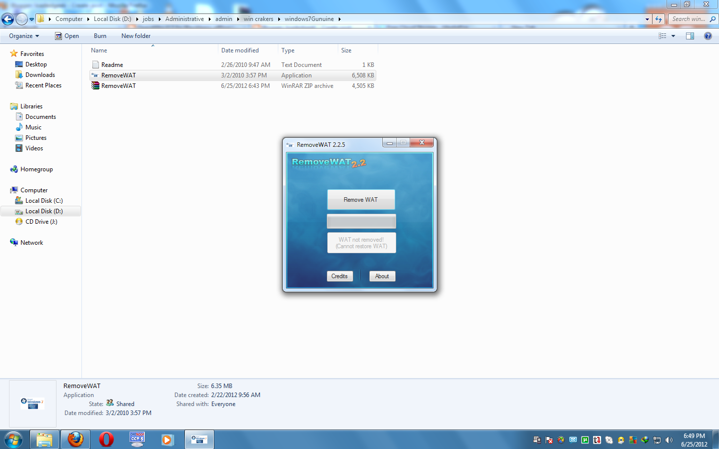 Windows 7 activation remove wat v2 2 5 2