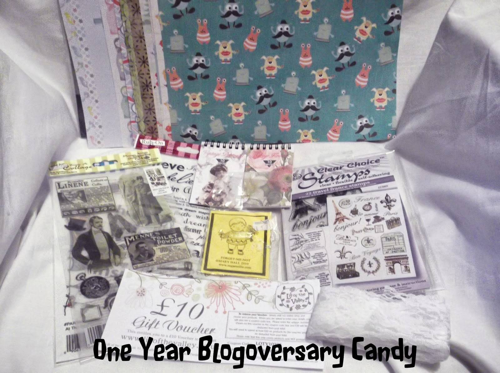 Sammy's Blogoversary Candy