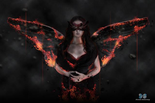 manipulasi photoshop, fantasy art