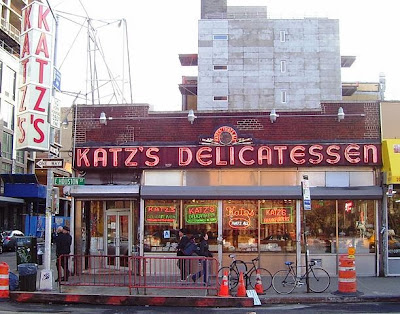 Katz's Deli in New York City