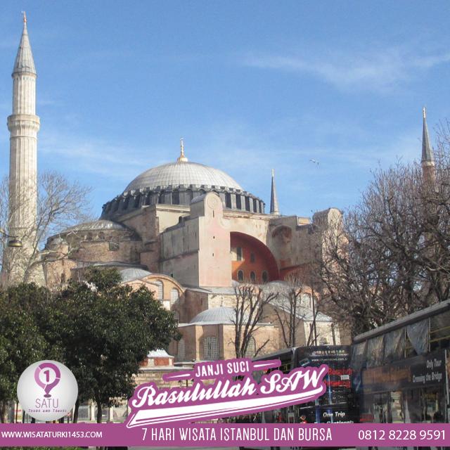Travel Umroh Plus Turki Bagus, Terbaik dan Terpercaya