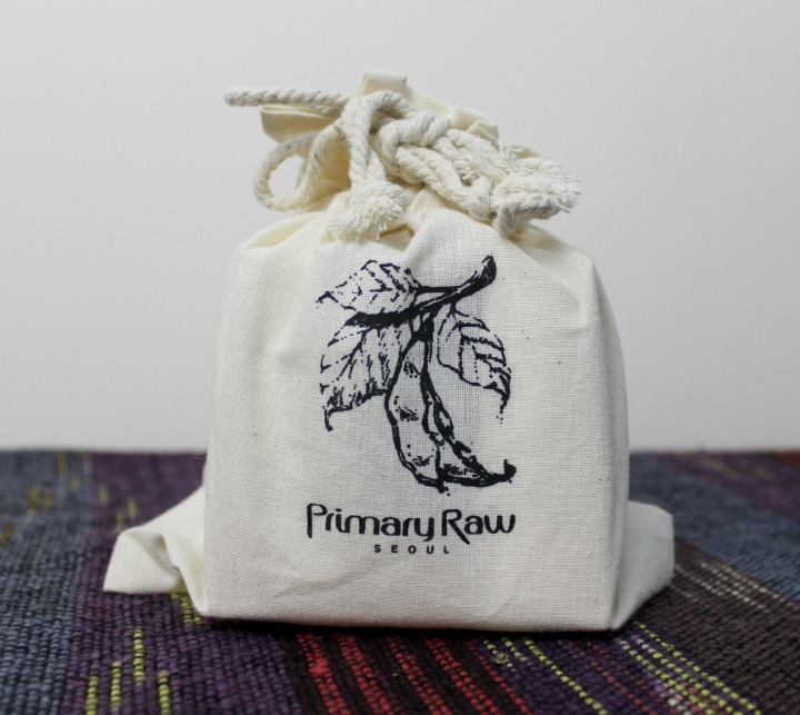Primary Raw Seoul DoYou Soy Facial Cream memebox bag