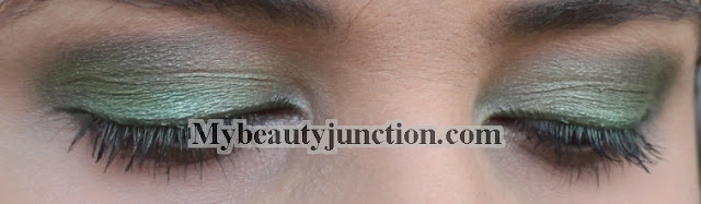 EOTD: Green smoky eye makeup with Too Faced eyeshadows inspired by The Hobbit