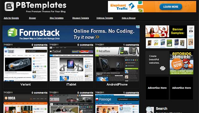 Cách thay template cho blogspot - Free template cho blogspot - Template đẹp nhất - by namkna.blogspot.com