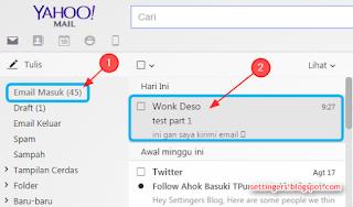 Cara membalas email di yahoo mail terbaru