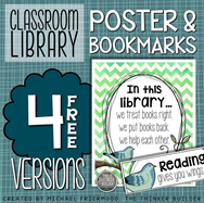https://www.teacherspayteachers.com/Product/FREEBIE-Classroom-Library-Poster-Bookmarks-2052770