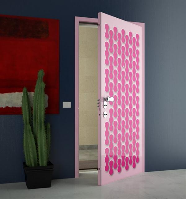 Door Painting Ideas Endearing With Pink Door Designs Photo