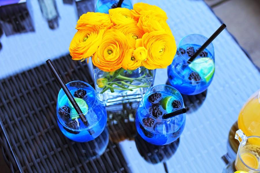 drink flowers lacoste frankfurt party