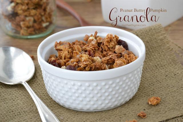 Peanut Butter Pumpkin Granola