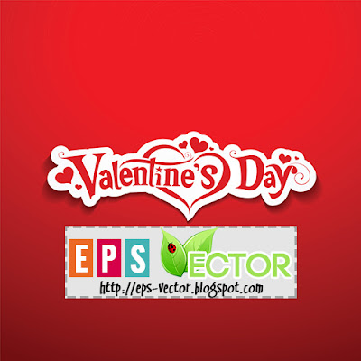 [Vector] - Valentine's Day lettering design